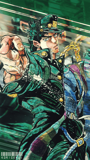 Kujo Jotaro - Jojo Bizarre Adventure: Stardust Crusaders Wallpaper