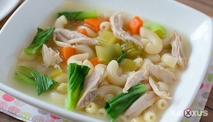 Obat batuk alami untuk ibu hamil - Sup ayam