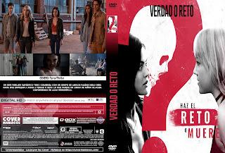 CARATULA VERDAD O RETO 2018 [COVER DVD+BLU-RAY]