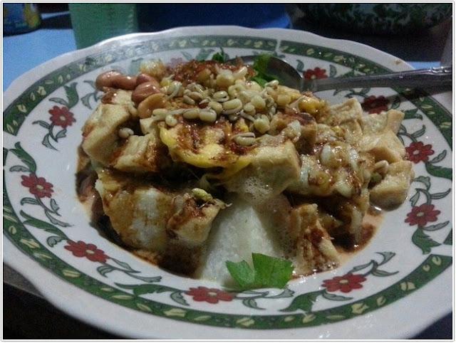 Tepo Tahu Pegadaian;10 Top Kuliner Magetan