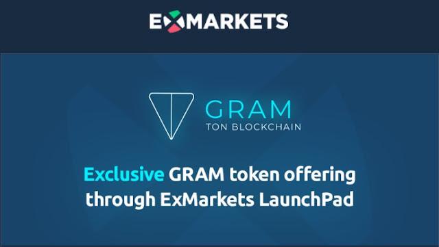 {filename}-Exclusive Gram Token Offering Through Exmarkets Launchpad