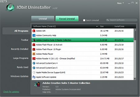 Download IObit Uninstaller 6.0.2.156 Portable Software