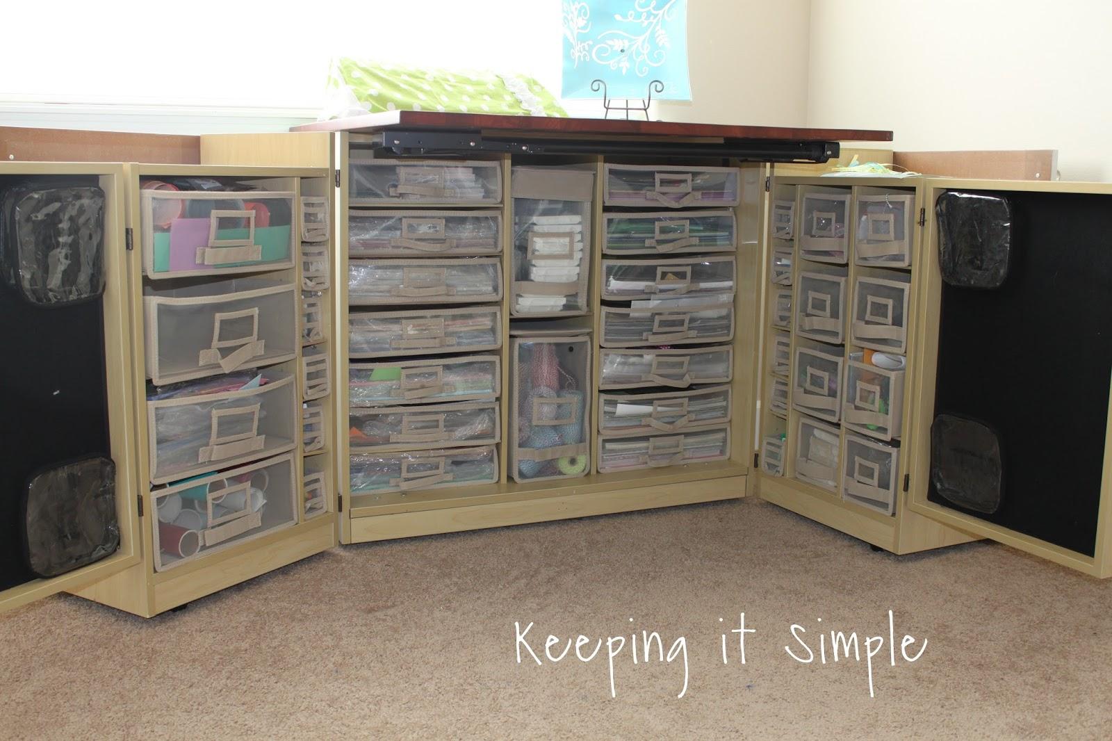 Craft Room Desk: Craft Room Decor Ideas And Craft Supplies Organization