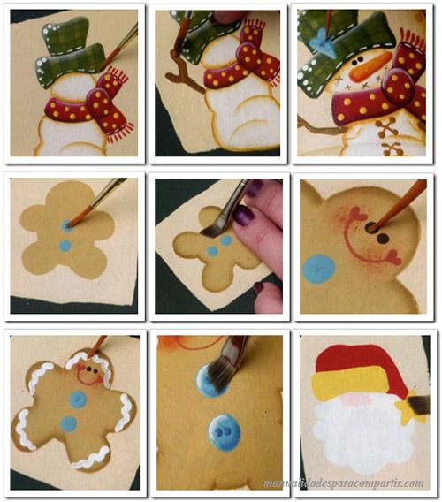 Manualidades para navidad. Frascos decorados. Frascos reciclados, pintura decorativa.