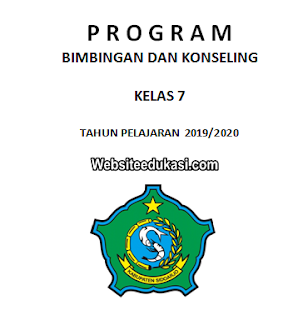Program BK SMP/MTs Kurikulum 2013 Revisi 2019/2020
