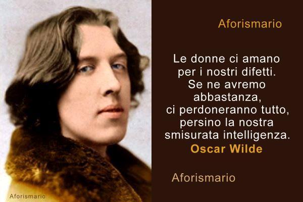 Aforismario Aforismi Frasi E Citazioni Di Oscar Wilde