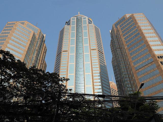 Бангкок, небоскребы (Bangkok, skyscrapers)