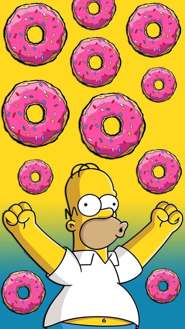 The Simpsons Homer Donut