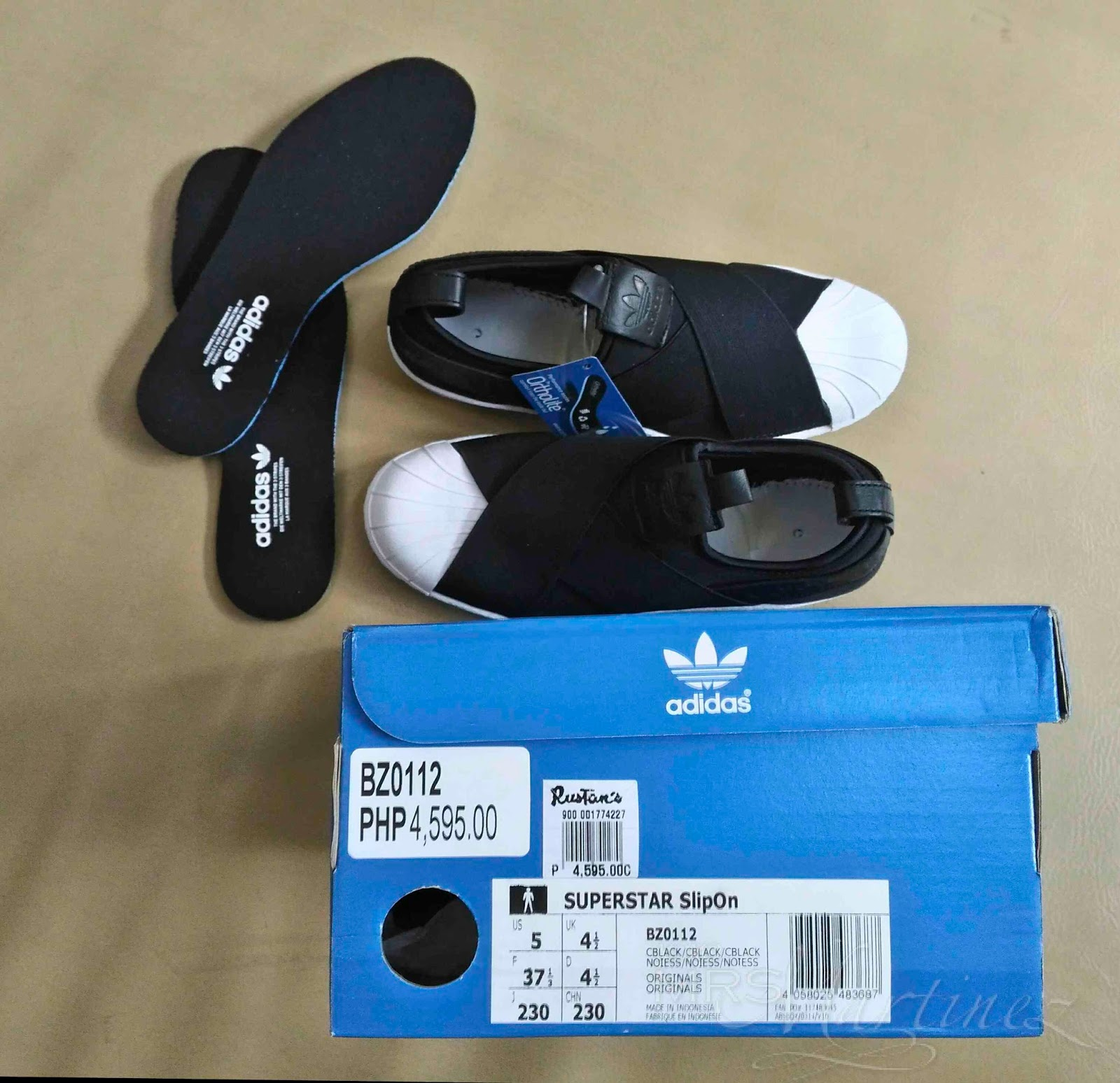 Adidas Superstar Slip On Black In Ortholite How To Spot A Fake