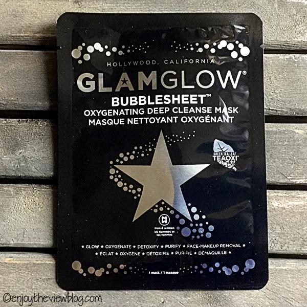 Glamglow Bubblesheet facial sheet mask