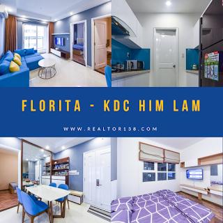 Cho thuê căn hộ Florita khu dân cư Him Lam đường D4
