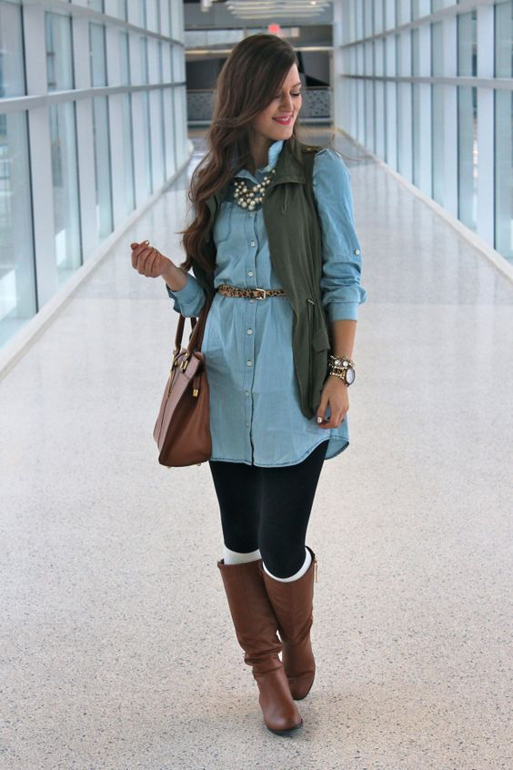 So, if you\u0027ve been wondering how to wear your denim dress for fall, here  are plenty of ideas! so with these tips you can enjoy wearing them for  longer!