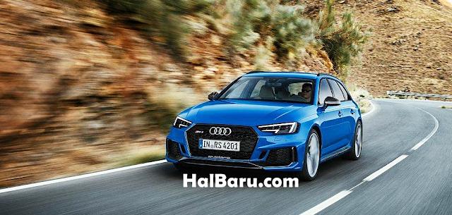 Kecepatan Audi RS4 Avant 2018