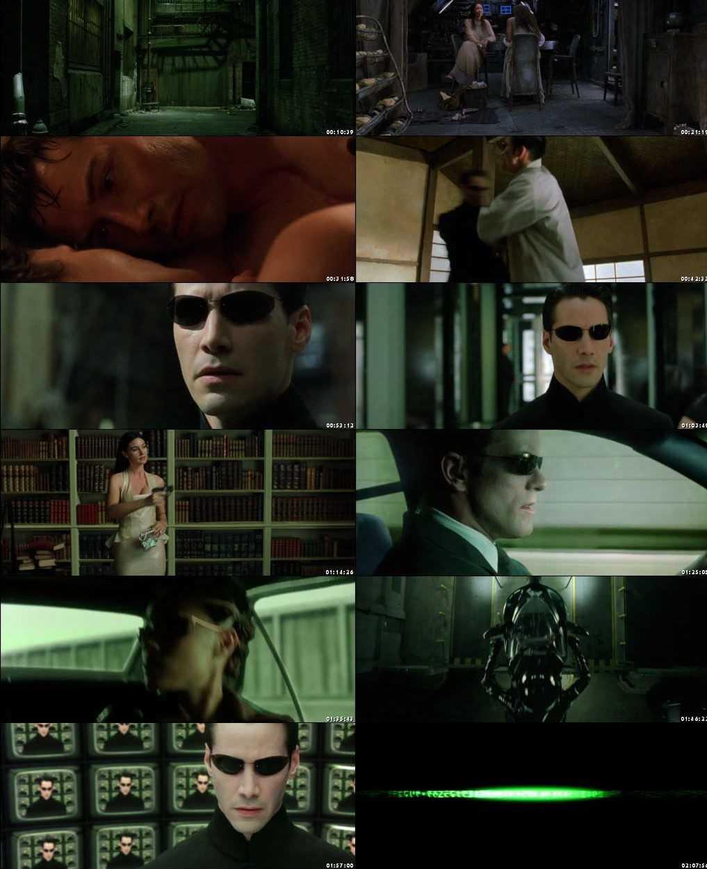 The Matrix Reloaded 2003 Screenshot