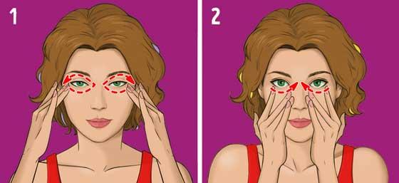 asahi teknik pijat wajah jepang, cukup 5 menit sehari kerutan wajah hilang