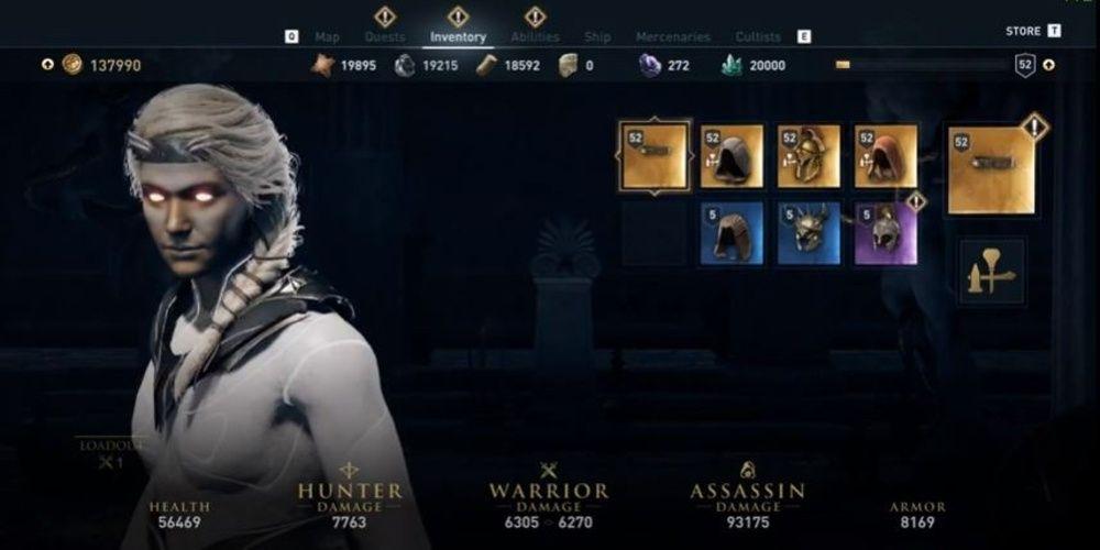All Legendary Items Unlocked