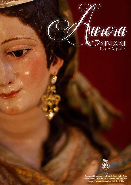 Cartel de Nuestra Madre de la Aurora 2021 de Lebrija