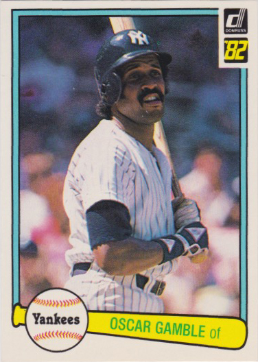 Oscar Gamble Batting Stance