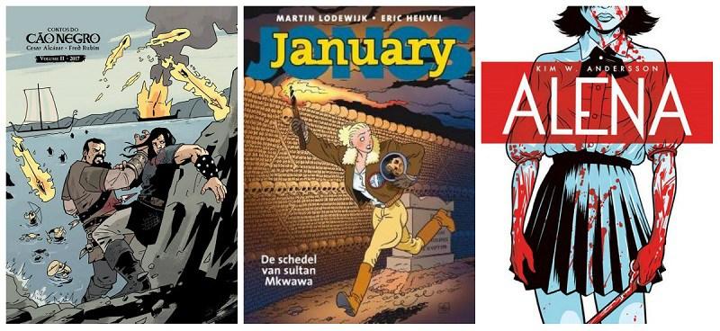 Novidades em Quadrinhos: Editora Avec 2017