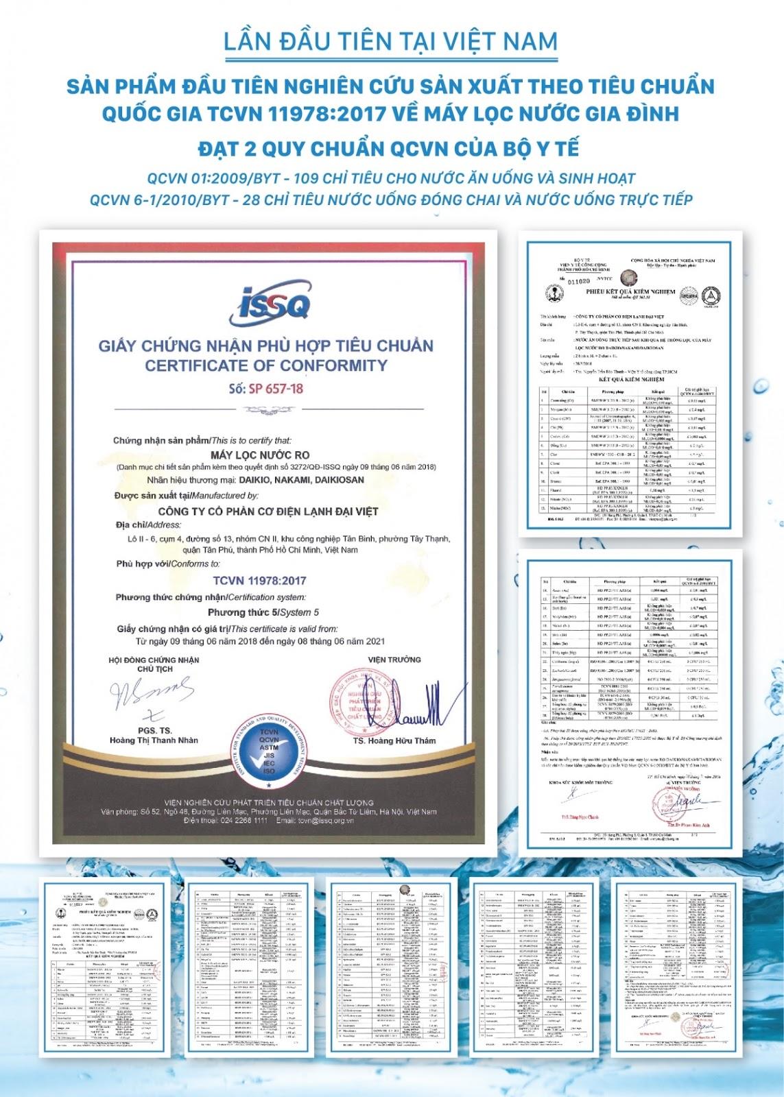 Máy lọc nước Daikio thông dụng DKW-00009H- Đen - 10 cấp