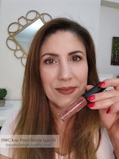 DWC Cosmetics Kıss Proof Matte Lıps 05