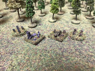 6mm Orc and Human artillery and infantry for Landships