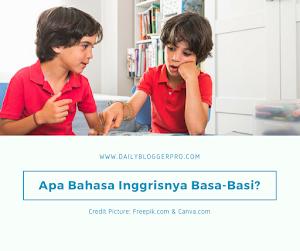 Apa Bahasa Inggrisnya Basa-Basi? - English Word #1