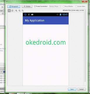 Screen Capture Android Studio