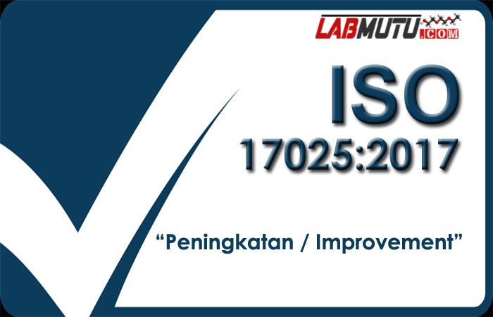 peningkatan iso 17025