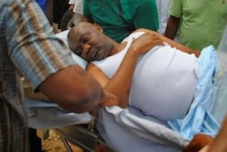 police shot senator in river state