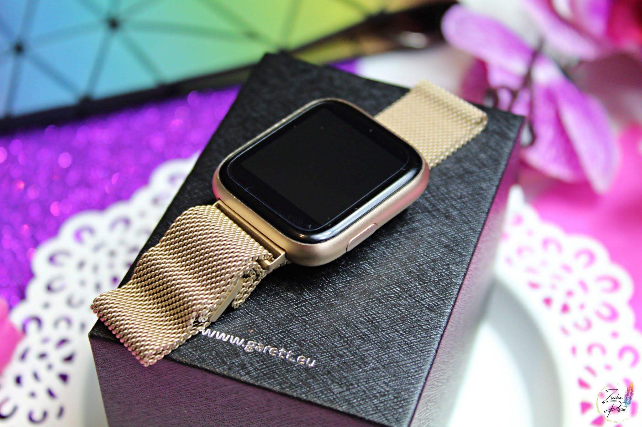 Smartwatch Garett Women EVA złoty, stalowy - recenzja + 20% kod rabatowy