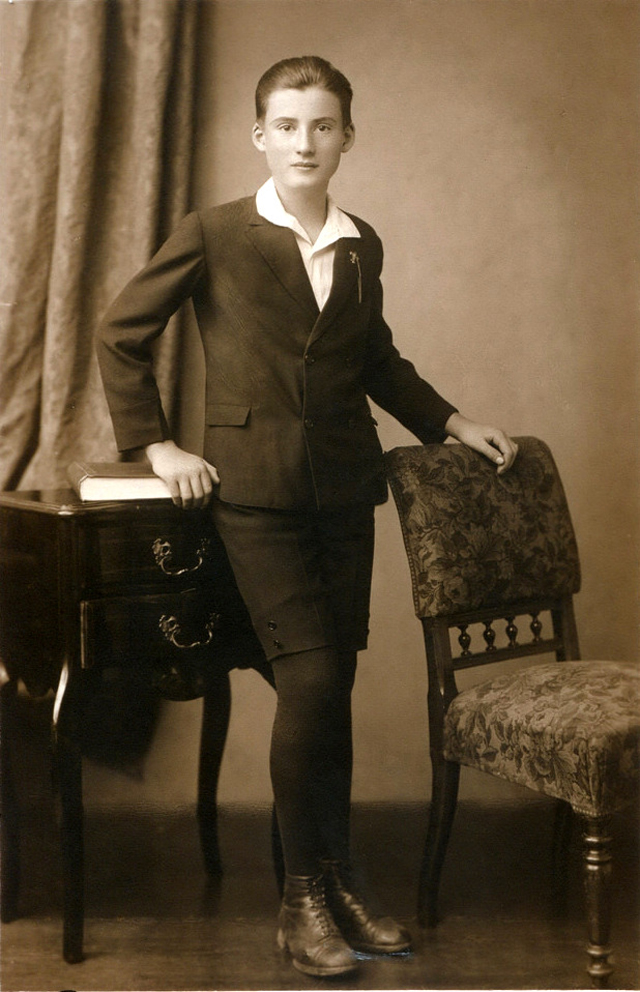 Girl In Boy's Clothes, Ca. 1920s