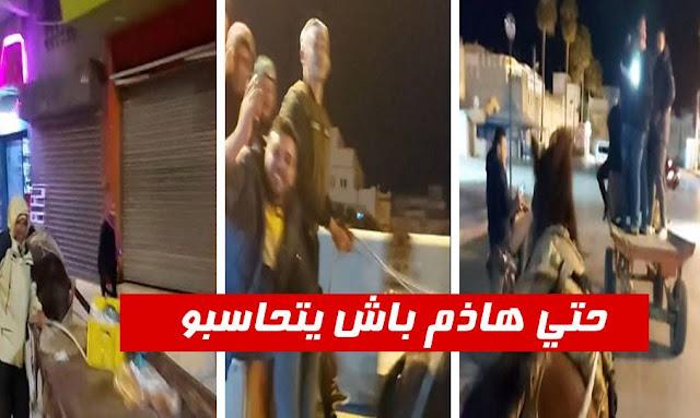 تونس: وزارة الداخلية ... سيتم تطبيق القانون على من اختاروا التنقل على الدواب ليلا !