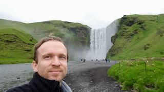 Sven in Iceland