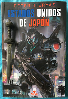 Portada del libro Estados Unidos de Japón, de Peter Tieryas