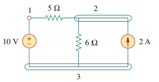 electric circuit example
