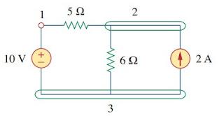 electric circuit example