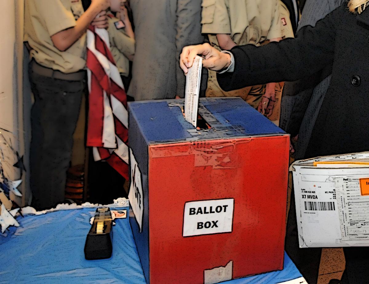 Casting ballot voter corruption in California Primary June 5 2018