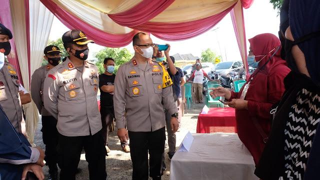 Jelang Pemilihan, Irjen A Rachmad Wibowo Kunjungi Salah Satu TPS di Bungo