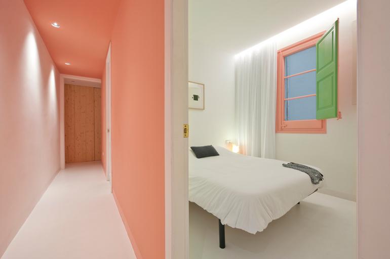 dormitorio 1 apartamento colorista