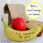 How to Write a Secret Message on a Banana