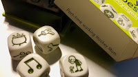 Blog With Friends, a multi-blogger project based post incorporating a theme, Tell Your Story. | Story Cubes by Tamara of Part-time Working Hockey Mom | Featured on www.BakingInATornado.com