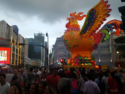 singapore, CNY, lunar new year, chinatown, bakwa, bee cheng hiang, spring festival, rooster, chicken, golden rooster, countdown, chinese new year 2017