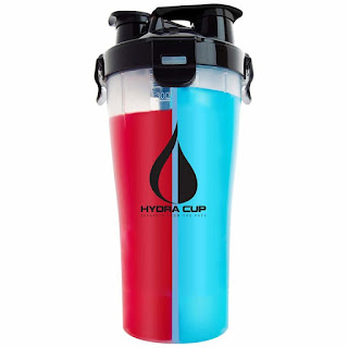 Hydra cup Dual-threat Protein shaker bottle