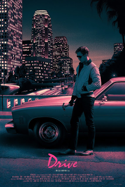 Drive Movie Poster Screen Print by Rory Kurtz x Mondo