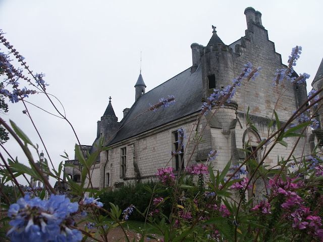 Logis Royal, Loches.  Indre et Loire, France. Photographed by Susan Walter. Tour the Loire Valley with a classic car and a private guide.