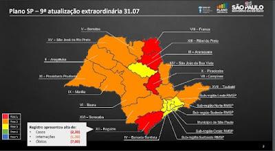 Governo do Estado recoloca Vale do Ribeira na fase vermelha do Plano SP