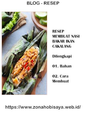 MUDAH !!! Resep Membuat Nasi Bakar Ikan Cakalang