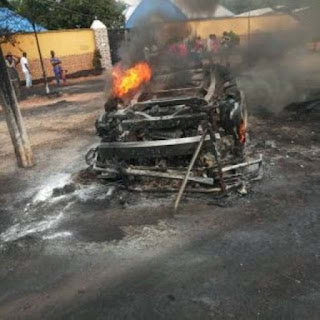 Passengers Burn Beyond Recognition In Anambra