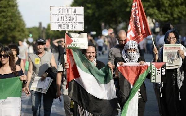 Le président de l'Association France Palestine interpellé à Paris